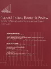 National Institute Economic Review  Volume 217 - Issue  -