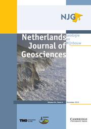 Netherlands Journal of Geosciences Volume 94 - Issue 4 -