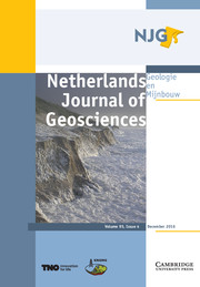 Netherlands Journal of Geosciences Volume 95 - Issue 4 -