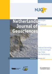 Netherlands Journal of Geosciences Volume 96 - Special Issue5 -  Induced Seismicity in the Groningen Gas Field, the Netherlands