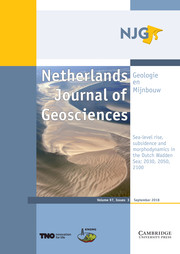 Netherlands Journal of Geosciences Volume 97 - Special Issue3 -  Sea-level rise, subsidence and morphodynamics in the Dutch Wadden Sea; 2030, 2050, 2100