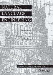 Natural Language Engineering Volume 20 - Issue 4 -
