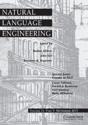 Natural Language Engineering Volume 21 - Issue 5 -  Graphs in NLP