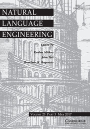 Natural Language Engineering Volume 23 - Issue 3 -