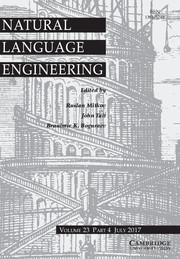 Natural Language Engineering Volume 23 - Issue 4 -