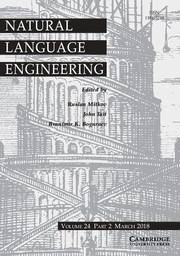 Natural Language Engineering Volume 24 - Issue 2 -