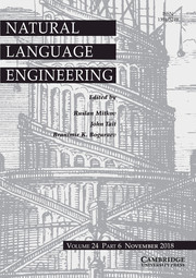 Natural Language Engineering Volume 24 - Issue 6 -