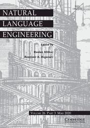 Natural Language Engineering Volume 26 - Issue 3 -