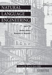Natural Language Engineering Volume 26 - Issue 4 -