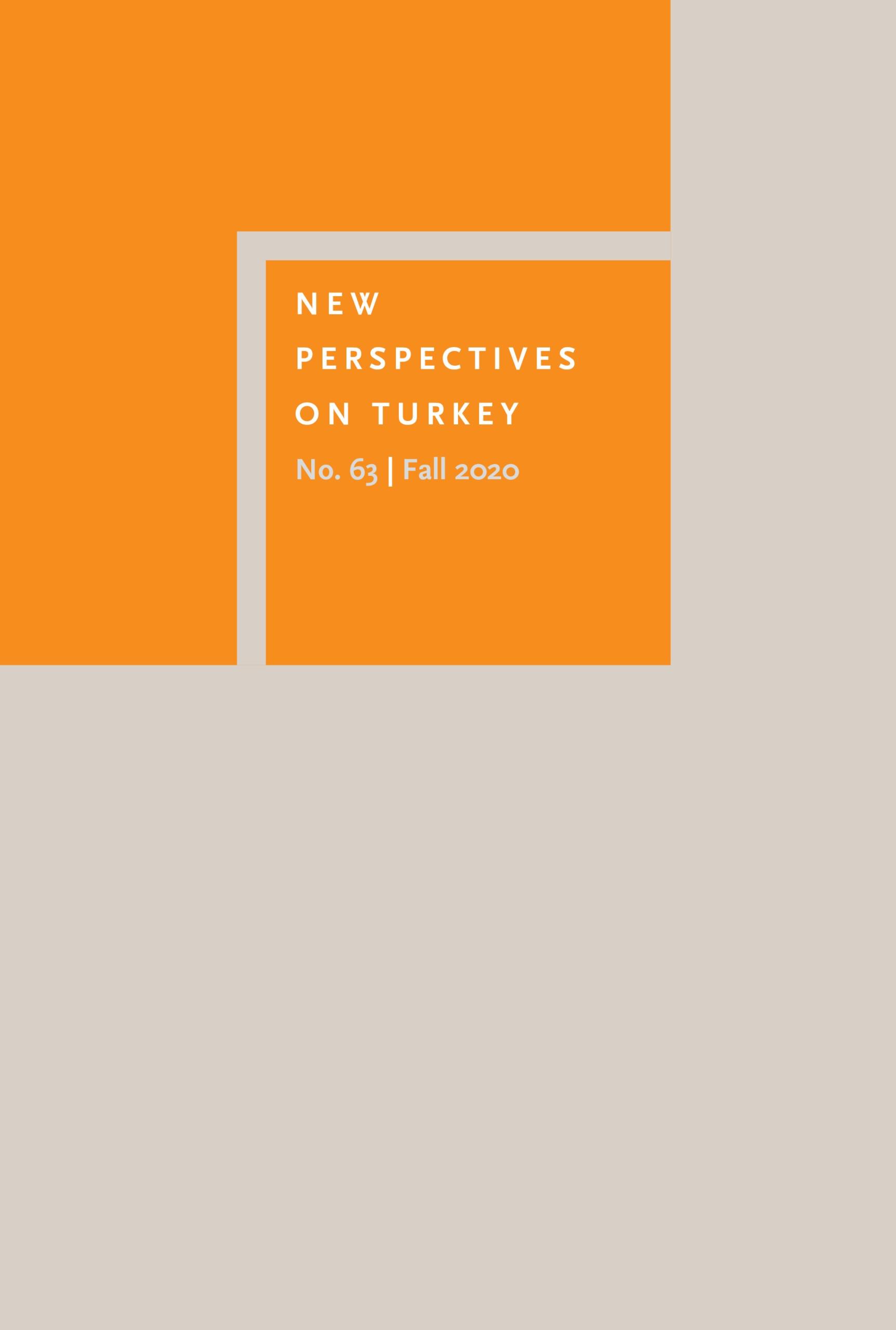 new perspectives on turkey volume 63