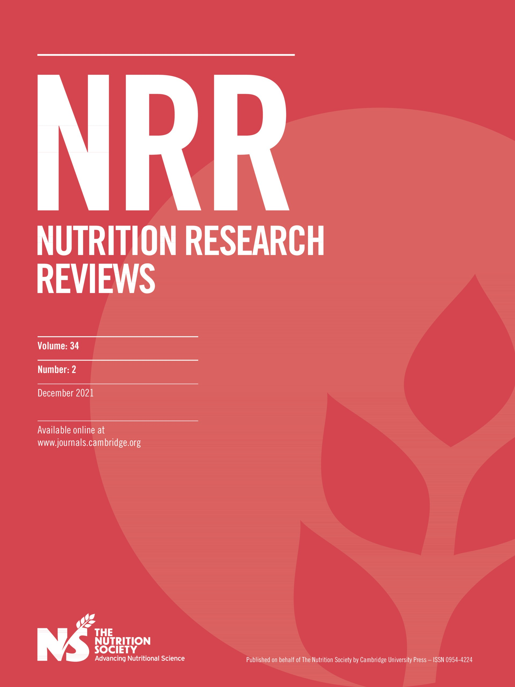 Nutrition Research Reviews | Cambridge Core