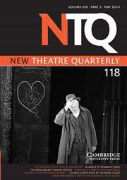 New Theatre Quarterly Volume 30 - Issue 2 -