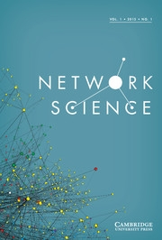 Network Science Volume 1 - Issue 1 -