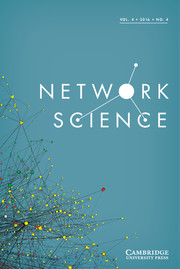 Network Science Volume 4 - Issue 4 -