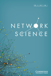 Network Science Volume 5 - Issue 1 -