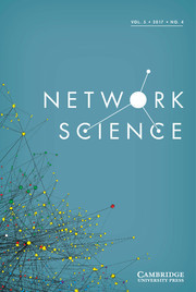 Network Science Volume 5 - Issue 4 -