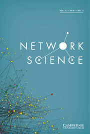 Network Science Volume 6 - Issue 2 -