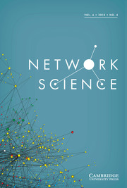 Network Science Volume 6 - Issue 4 -