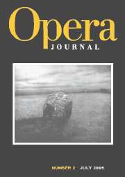 Cambridge Opera Journal Volume 17 - Issue 2 -