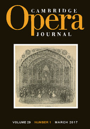 Cambridge Opera Journal Volume 29 - Issue 1 -  Nineteenth-Century Grand Opéra on the Move