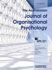 The Australasian Journal of Organisational Psychology