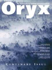 Oryx Volume 37 - Issue 2 -