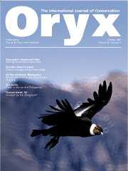 Oryx Volume 38 - Issue 4 -