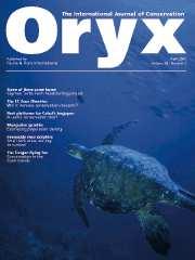 Oryx Volume 39 - Issue 2 -