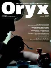 Oryx Volume 40 - Issue 3 -