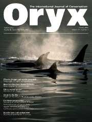 Oryx Volume 41 - Issue 1 -