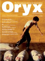 Oryx Volume 44 - Issue 1 -