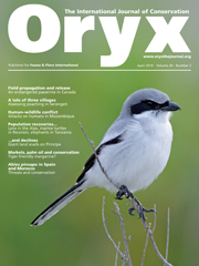 Oryx Volume 44 - Issue 2 -
