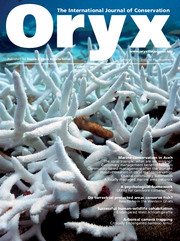 Oryx Volume 46 - Issue 4 -