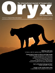Oryx Volume 47 - Issue 1 -