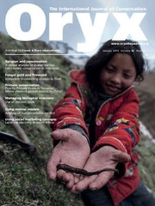 Oryx Volume 48 - Issue 1 -