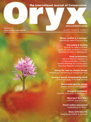 Oryx Volume 50 - Issue 3 -
