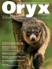 Oryx Volume 51 - Issue 1 -