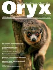 Oryx Volume 51 - Issue 1 -