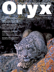 Oryx Volume 51 - Issue 4 -