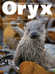 Oryx Volume 52 - Issue 4 -