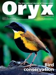 Oryx Volume 54 - Issue 1 -