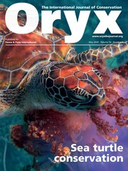 Oryx Volume 54 - Issue 3 -