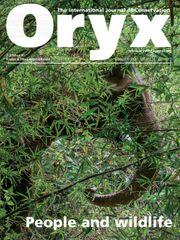 Oryx Volume 54 - Issue 5 -