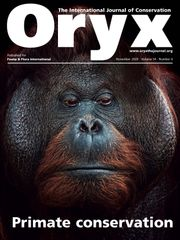 Oryx Volume 54 - Issue 6 -