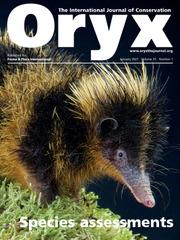 Oryx Volume 55 - Issue 1 -