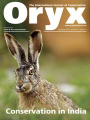 Oryx Volume 55 - Issue 5 -