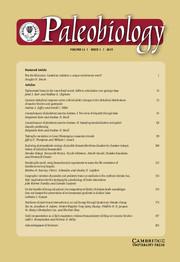 Paleobiology Volume 41 - Issue 1 -