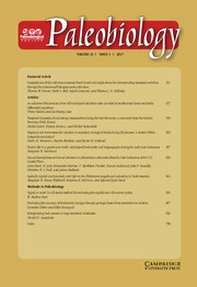 Paleobiology Volume 43 - Issue 4 -