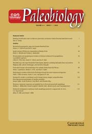 Paleobiology Volume 44 - Issue 1 -