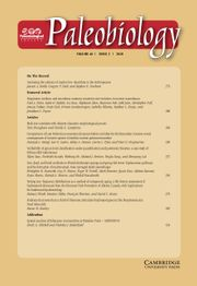 Paleobiology Volume 46 - Issue 3 -